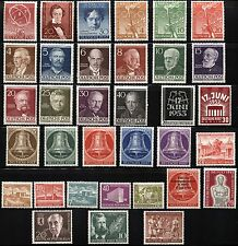 GERMAN DEUTSCHE POST OCCUPATION Stamps Collection BERLIN MINT LH High CV