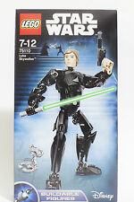 Brand New Lego Disney Star Wars Luke Skywalker 75110 Buildable Figures Free Ship