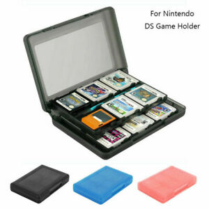 24 in 1 Game SD Card Storage For Nintendo 3DS DS DSi XL LL Case Holder UK stock