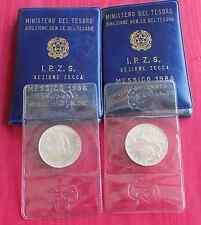 (1)  500 Lire 1986 FDC - Messico - Argento 835/1000 -  In Confezione Zecca-