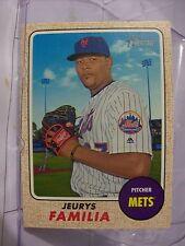 2017 Topps Heritage Baseball Card #278 Jeurys Familia  (19157)