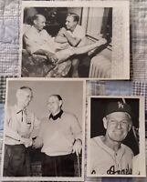 Brooklyn & Los Angeles Dodgers Vintage Wire Photo Collection Reese, Durocher