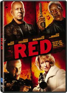 Red (DVD, WS, 2011) Bruce Willis Morgan Freeman NEW