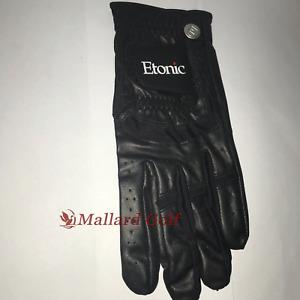 1 Left Regular Men's Etonic Stabalizer Fit Sport Golf Glove Black