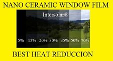 "Window Film 15%   Nano Ceramic Tint  Residential Auto  24""x50' 2ply Intersolar®"