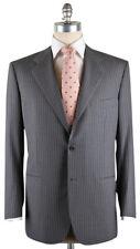 New $7200 Kiton Gray Suit 44/54