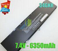 New 47Wh Battery for Dell Latitude 7000 E7450 E7440 E7420 34GKR 451-BBFT PFXCR