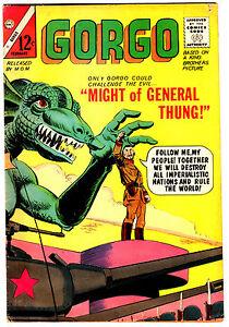 Charlton! Gorgo #22! Great Looking Book!