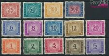 Italie p74-p87 neuf 1947 Dessin numéros (9045797