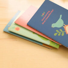 Cute Animal Diary Notebook Paper Writing Memo Planner Travel Journal Note Book ^