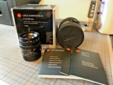 Leica 50mm Summicron-M - F2 -  6-bit Coded - with original packaging
