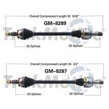 For Chevy Camaro 2010-2015 Pair Set of Rear Left & Right CV Axle Shafts SurTrack