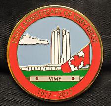 100th Anniversary of Vimy Ridge - APNA Medal 2017