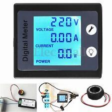 AC 80-260V 100A Digital Voltage Power Energy Meter Ammeter Voltmeter Transformer