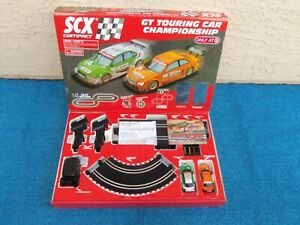 2009 SCX Compact GT Touring Car Slot Racing Track Set 1:43 Scale