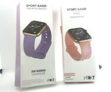 Next Bundle Pair of Apple Watch Bands 38/40mm  Lavender/Pink  *FREE SHIP*