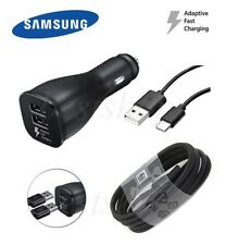 OEM Samsung Galaxy S8 S8+ Note 8 LG G5 G6 Dual Adaptive Fast CAR Charger Type-C