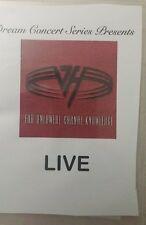 Dream Concert Series Presents: Van Halen with Sammy Hagar For.Un.Ca.Kn. LIVE DVD