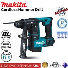 Makita 18V Cordless Rotary Hammer Drill Driver SDS Brushless Li-Ion 17mm Tool