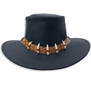 The Croc Leather Hat