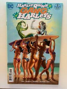 Harley Quinn and Her Gang of Harleys #5 1:25 Frank Cho Variant DC 2016 Rare