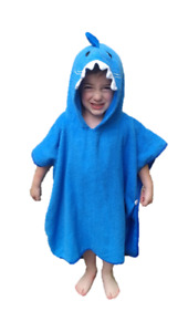 Hudz Kidz SOFTEST QUICK DRY Hooded Kids Shark Towel for Toddlers, Kids - 5T