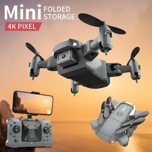Mini Drone HD 4K Camera Foldable Drones RC Quadcopter One-Key Return Helicopter