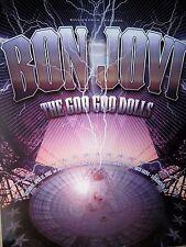 Bon Jovi Goo Goo Dolls CA 2003 Concert Poster Art Rex Ray BGP 299