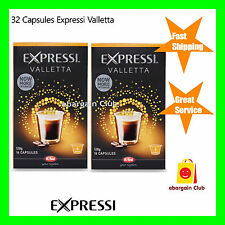 32 Capsules Expressi Coffee Pods Valletta Twin Pack (2 boxes)   ALDI eBC