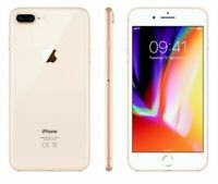 Apple iPhone 8 Plus 256GB Fully Unlocked (GSM+CDMA) AT&T T-Mobile Verizon Gold