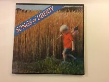 Songs of Liberty - Book-Of-The-Month Records ‎– 41-7632 - 3 ×vinyl lp EX/EX rare