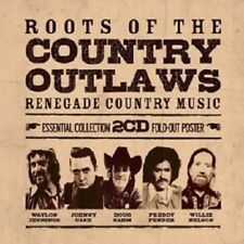 ROOTS OF THE COUNTRY OUTLAWS-ESSENTIAL... 2 CD NEW!