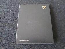 2007 2008 Lamborghini Rare Reventon Press Kit Lambo Gallardo Murcielago Brochure