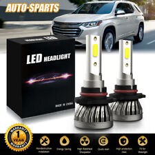 9005 9145 H10 Led Fog Light Conversion Kit Upgrade 6500K Xenon White 30000Lm Dh