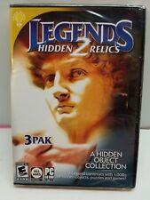 LEGENDS 2 Hidden Relics 3 PAK - Hidden Object Collection -Windows XP/Vista/7