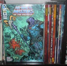 HE-MAN Masters Of The Universe 1/27 collezione COMPLETA IMBUS 100 bullets batman