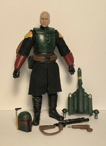 "Custom Star Wars The Mandalorian (Clean Armor) 3.75""  Boba Fett Action Figure"