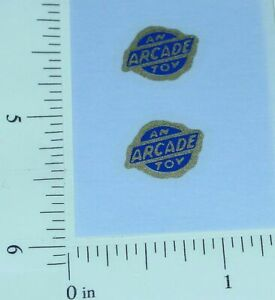 Pair Navy/Gold Arcade Toys Vehicle Stickers AR-004
