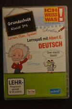 Ich weiss was! Lernspaß mit Albert E. Deutsch Grundschule 3+4 CD-ROM