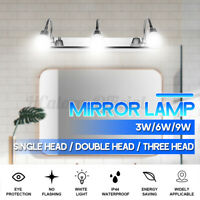 3W/6W/9W LED Bathroom Vanity Light Mirror Front Light Makeup Wall Lamp  M
