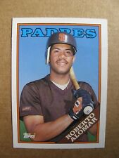 1988 Topps Traded - Roberto Alomar - San Diego Padres - # 4T - Rookie