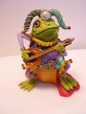 1996 Jumping Jester Camelot Frogs Sculpture Collection