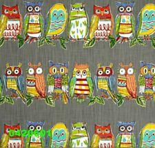 "18"" x 18"" Richloom R Gallery Hoot Owls Mercury Pillow Cover"