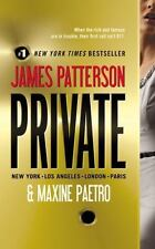 Private: Private 1 by James Patterson and Maxine Paetro (2011, Paperback)