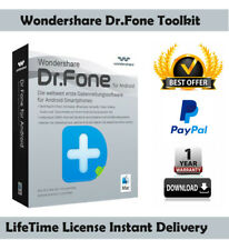 Wondershare dr.fone toolkit for ios and android ✅ Lifetime License Key 🔥70% OFF