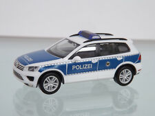 "Herpa 093637 - H0 1:87 - VW TOUAREG ""Policía Federal"" -Nuevo en EMB. orig."