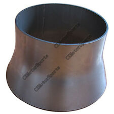 """304 Stainless Steel Reducer Jointer Pipe 5"""" to 4"""" Downpipe Manifold Header"""