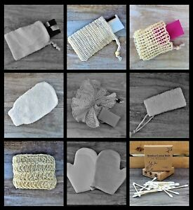 100% NATURAL SOAP BAGS & PAMPER ACCESSORIES - VEGAN - ECO FRIENDLY PLASTIC FREE