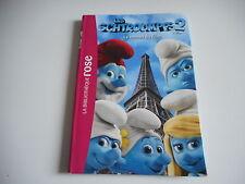 BIBLIOTHEQUE ROSE - LES SCHTROUMPFS 2  Le roman du film