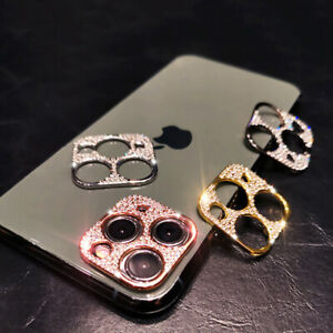 Diamond Camera Lens Metal Protector For iPhone 11 Pro Max Bling Glitter Cover